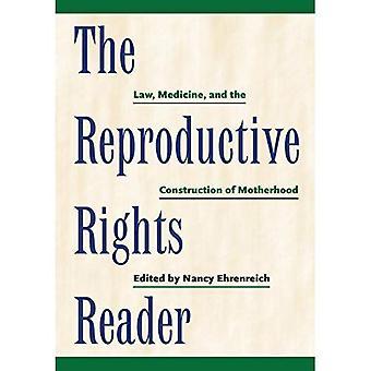 Reproduktive rettigheder læseren: Lov, medicin og opførelsen af moderskab (kritisk Amerika (New York Universitet Paperback))