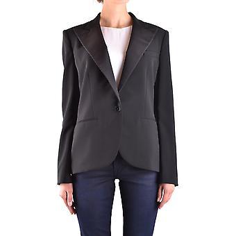 Ralph Lauren Black Polyester Blazer