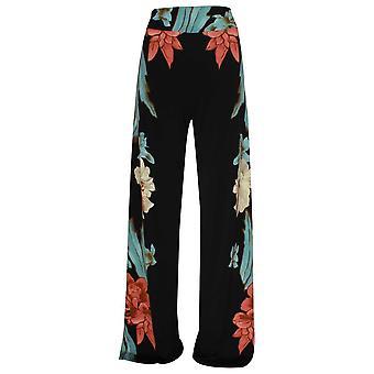 Frank Lyman bredt Leg fet Floral Print bukser