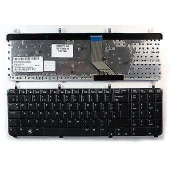 HP Pavilion dv7-2120sa schwarz UK Layout Ersatz Laptop-Tastatur