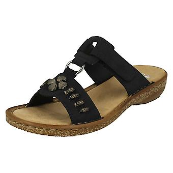 Ladies Rieker Open Toe Sandals 62891