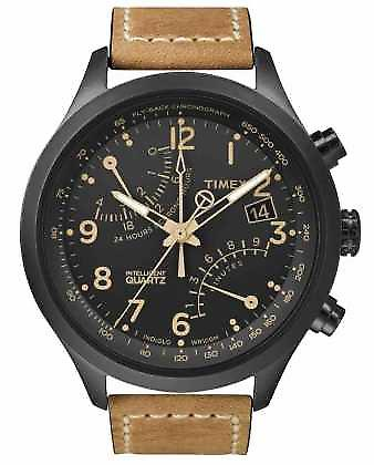 Timex IQ T Series Fly-Back Chronograph T2N700 Watch