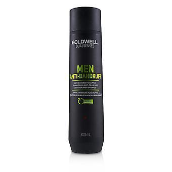 Goldwell dobbelt sanser menn anti-flass shampoo (for tørr til normal hår med eksentrisk hodebunn)-300ml/10.1 oz