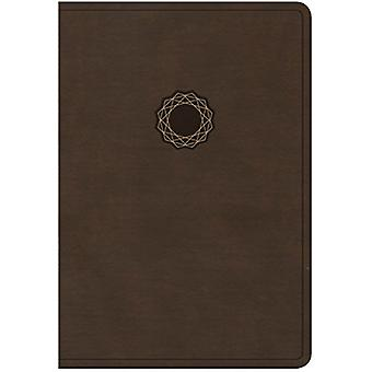 KJV Deluxe Gift Bible - Brown/Tan Leathertouch by Holman Bible Staff