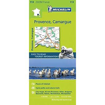 Provence - Camargue Zoom Map 113 - 9782067217768 Book