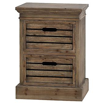 Rustic Bedside Table - Somerset Range