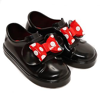 Melissa Shoes Mini Disney Minnie Be Slip On Trainer, Black