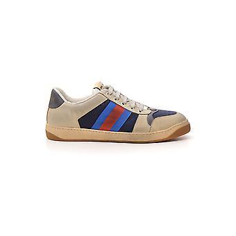 Gucci zapatillas de cuero Multicolor