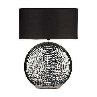 Premier Home Table Lamp, Ceramic, Black