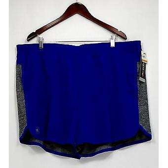 Ideology Plus Shorts Mixed-Media 2-in-1 Shorts Blazing Purple