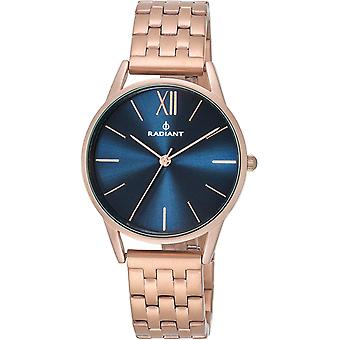 Radiant new fusion watch for Women Analog Quartz with stainless steel bracelet plated in RA438202 gold