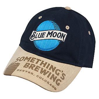 ブルームーン海軍 Strapback 帽子が持ち上がり