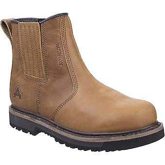 Amblers Safety Mens Kennoway Dealer Leather Work Boots