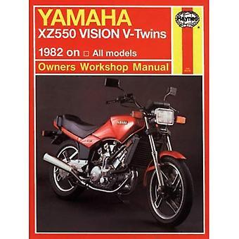 Yamaha XZ550 Vision V-twins Owner's Workshop Manual (Motorcycle Manuals)