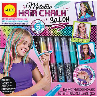 Metallic Hair Chalk Salon Kit- 738WM