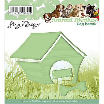Find It Trading Amy Design Animal Medley Die-Dog House ADD10022