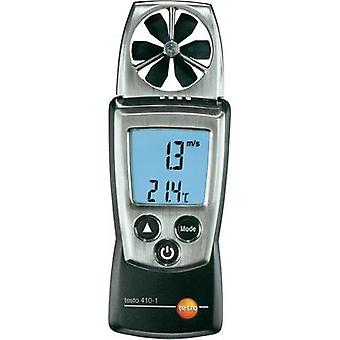 Anemometer testo testo 410-1 0.4 up to 20 m/s Calibrated to Manufacturer standards