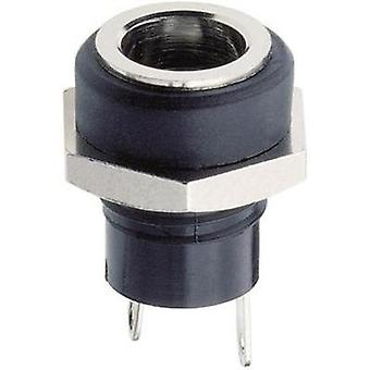 Low power connector Socket, vertical vertical 5.7 mm 2 mm