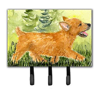 Norwich Terrier Leash Holder or Key Hook