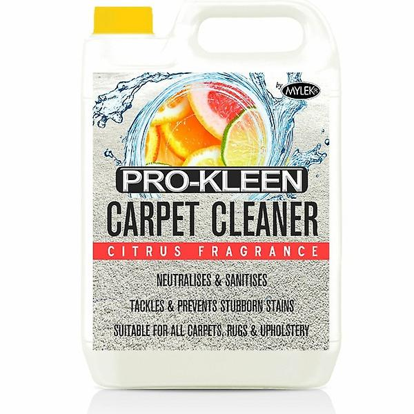5l Pro-kleen Carpet Cleaning Shampoo Detergent - Citrus Fragrance