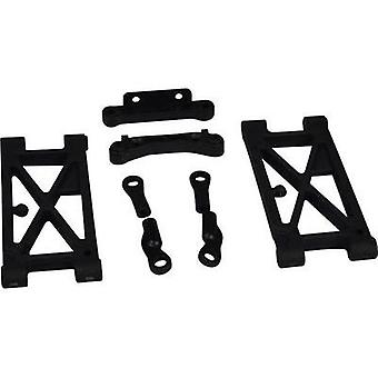 Spare part Reely 10458+10463+10434 Rear wishbone set