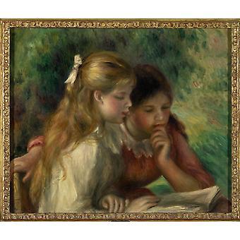 Pierre Auguste Renoir franska skolan affisch Skriv