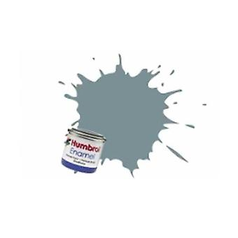 Humbrol Enamel Paint 14ML No 87 Steel Grey - Matt