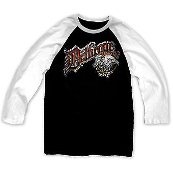 Detronisere glat Ltd Raglan trøje - sort/hvid