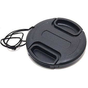 Dot.Foto 37mm Snap On Lens Cap with string / leash for Cameras and Camcorders