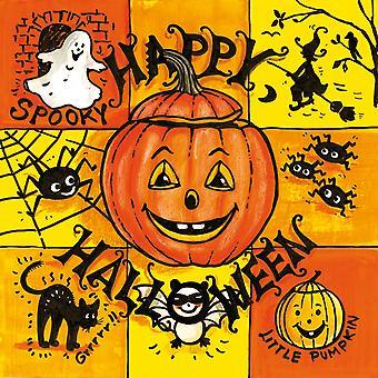Ambiente 3 lags papir frokost servietter, Happy Halloween