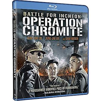 Kampen om Incheon: Operation chromit [Blu-ray] USA importerer