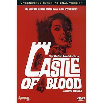 Castle of Blood [DVD] USA importerer