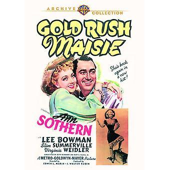 Importer des USA de la ruée vers l'or Maisie [DVD]