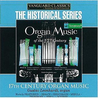 Gustav Leonhardt - 17th Century orgelmusik [CD] USA import