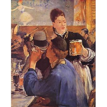 Edouard Manet - In a Bar Poster Print Giclee