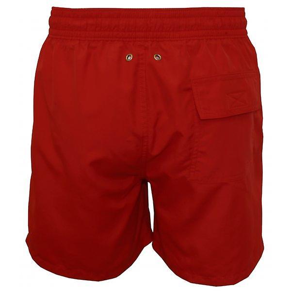 Polo Ralph Lauren Hawaiian Swimming Shorts, Royal Red