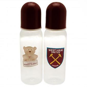 West Ham United 2pk butelki do karmienia
