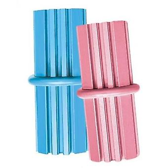 Kong Puppy Teething Stick Med Pink/Blue