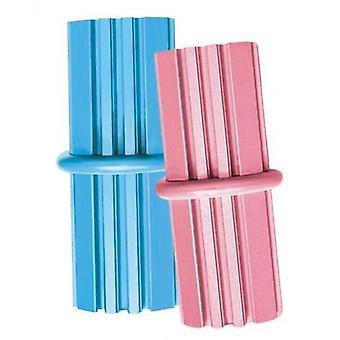 Kong Puppy ząbkowania Stick Med różowy/niebieski