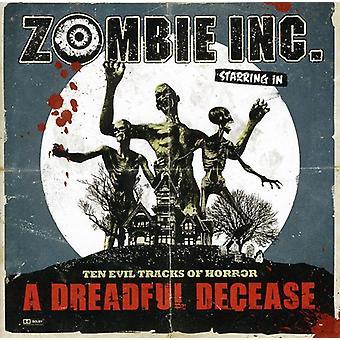 Zombie Inc - frygtelige død [CD] USA import