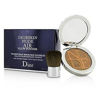 Christian Dior Diorskin Nude Air Healthy Glow Radiance Powder (With Kabuki Brush) - # 003 Warm Tan - 10g/0.35oz