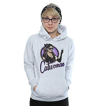 DC Comics Women's DC Bombshells Catwoman Hoodie