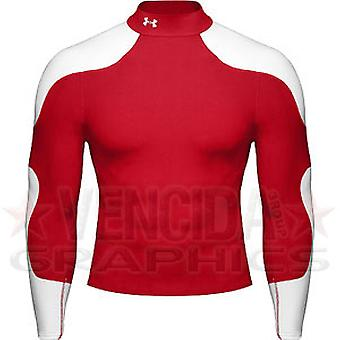 UNDER ARMOUR coldgear blitz junior [red/white]