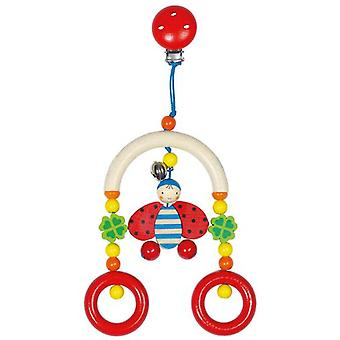 Goki Mini-trapeze ladybird (Toys , Preschool , Babies , Early Childhood Toys)