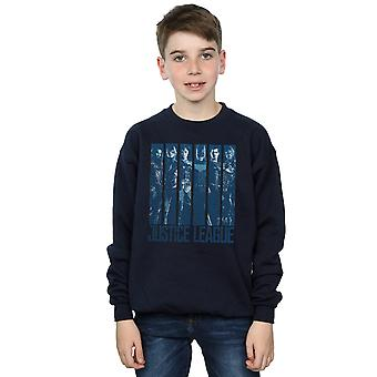 DC Comics garçons Justice League film Double Indigo Sweatshirt