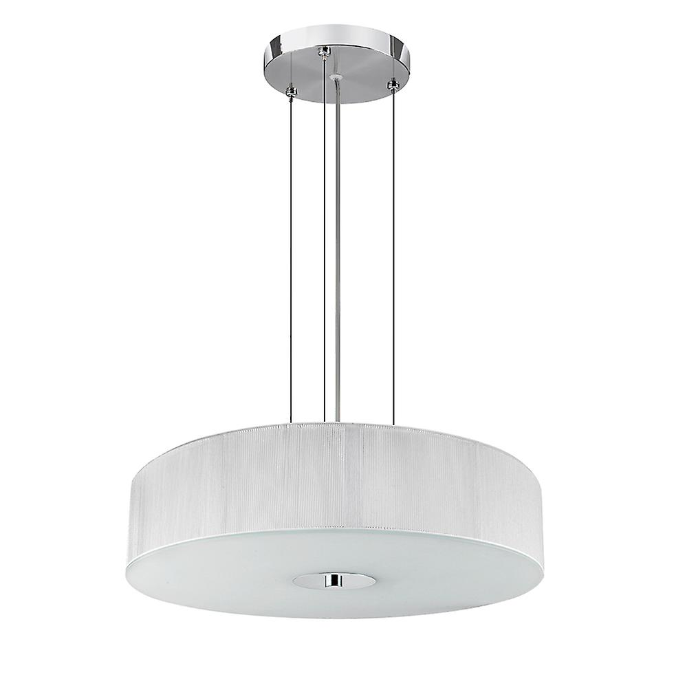 Searchlight 7156WH Melita White Ceiling Pendant