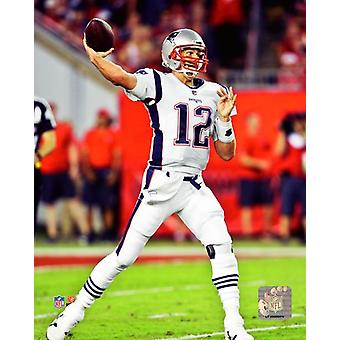 Tom Brady 2017 azione Photo Print