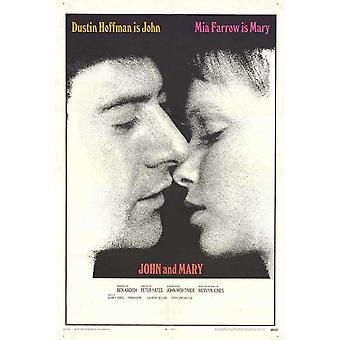 John and Mary Movie Poster (11 x 17)