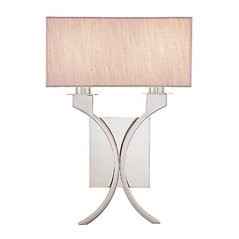 Vienna Twin Wall Light met Beige tinten - interieurs 1900 63749