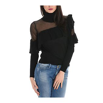 Jucca ladies J2621027003 black Wool Sweater